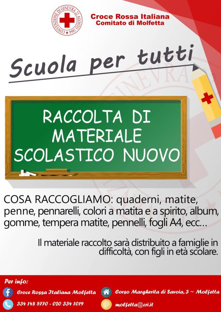 """Locandina """"Scuola per tutti"""""""