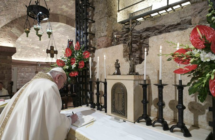 firma dell'enciclica