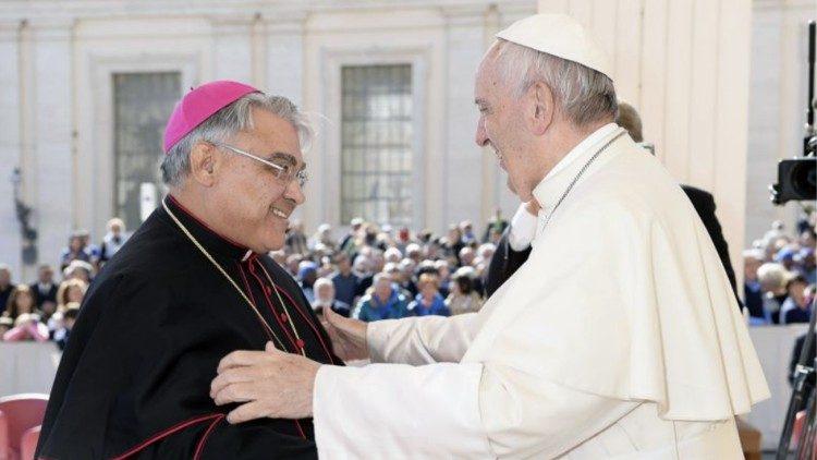 Mons. Marcello Semeraro nuovo prefetto della Congregazione delle Cause dei Santi