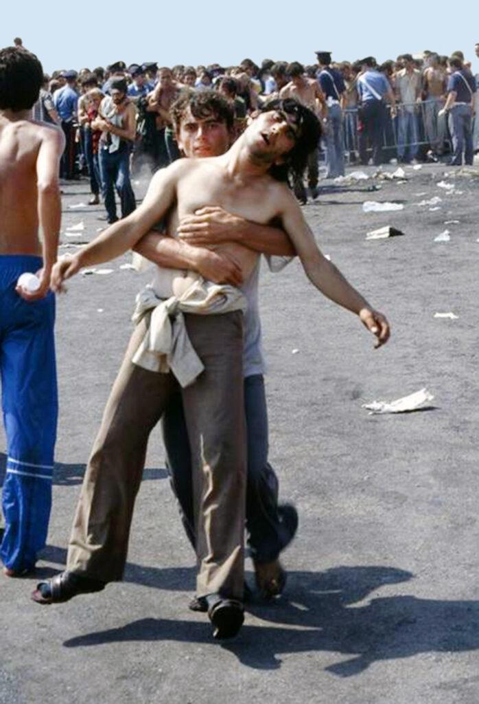 Giovani migranti vlora