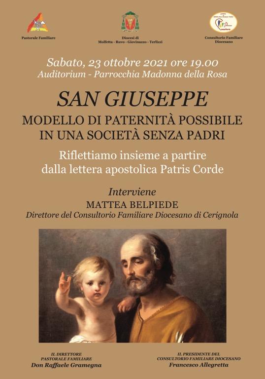 Locandina San Giuseppe Conferenza