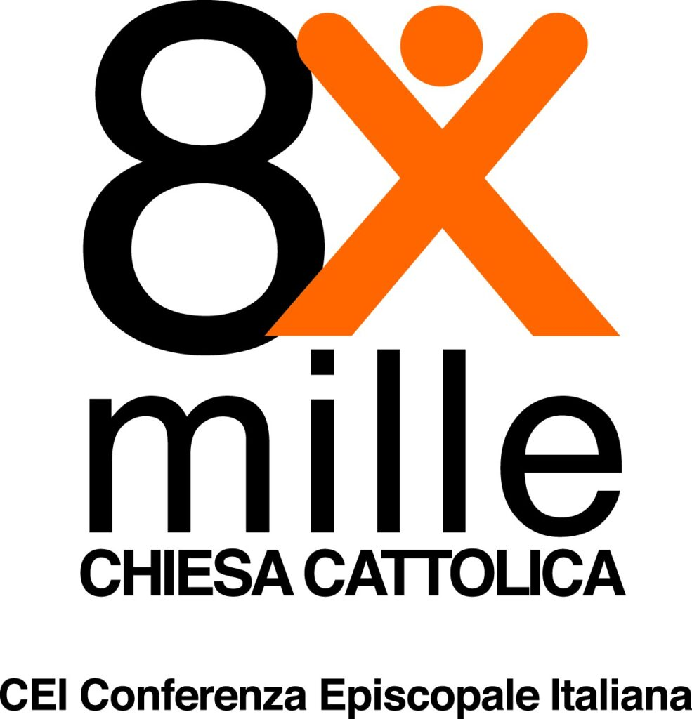 CEI logo 8xmille_arancio